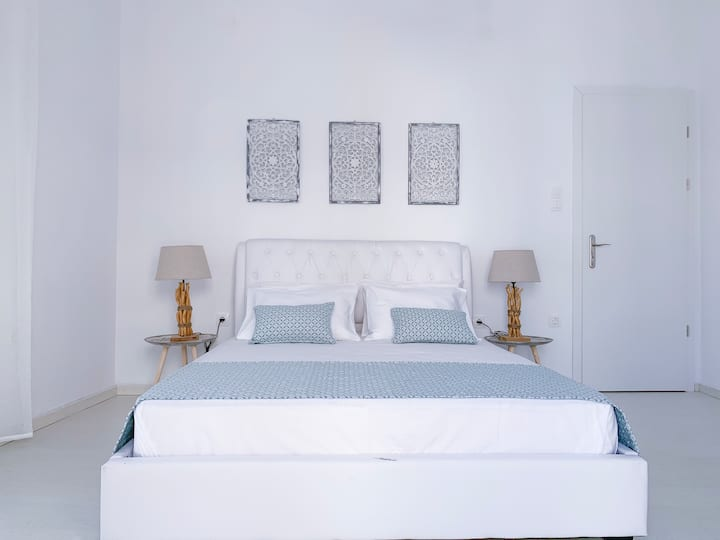 Aether of Tinos cosy cycladic flat