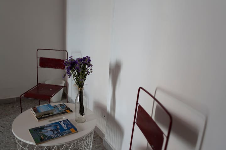 Spacious and double room in a historic House