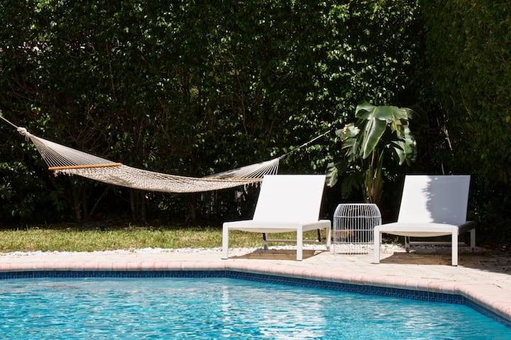 •Bluescape• Relaxing getaway home 3min from beach!