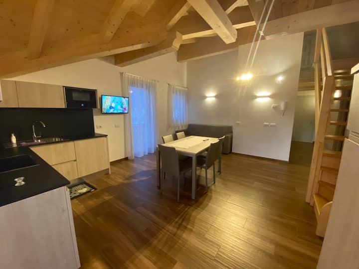 FEUDO Ampio appartamento in casa nuova