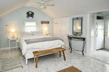 Sleep well on the all new mattress, wake up to the bright and cozy Baby Love Shack ... ready for a fun filled day