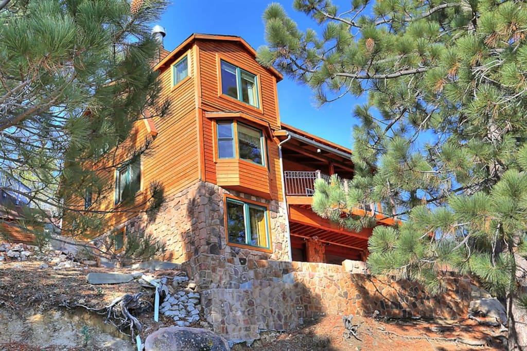 Come enjoy this Incredibly Unique Mountain Home