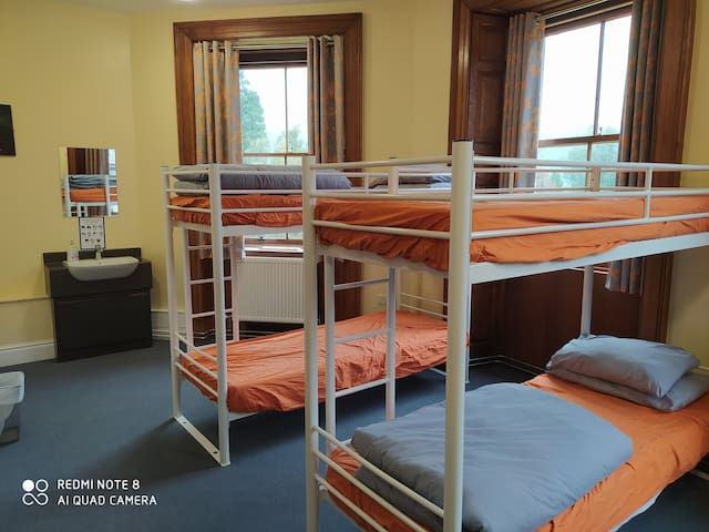 Bunk Beds & Additional Sinks