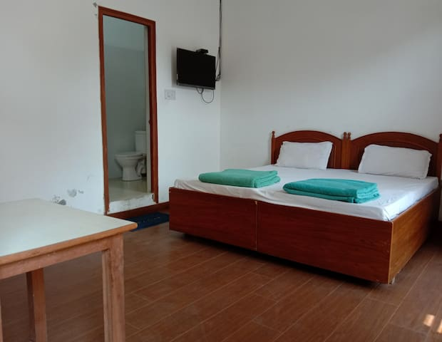 Osho Vision Haridwar Private AC-Room Balcony 05