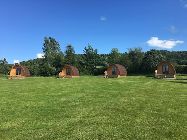 Glamping Pods, Thirsk, North Yorkshire
