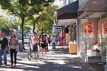 Robson Street shopping/ dining
