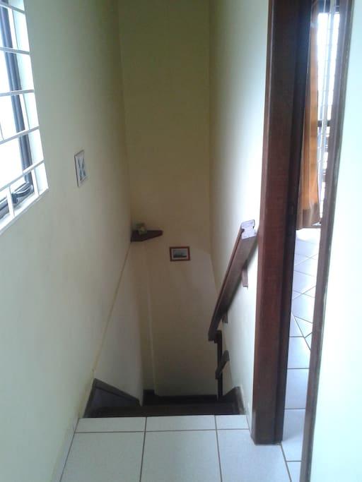 Um lance de escada