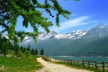 Ceresole Reale passeggiata giro lago