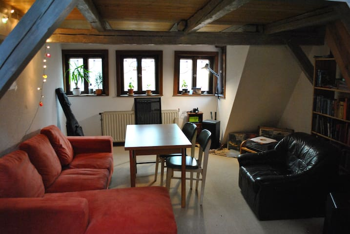 Maisonette Wohnung im Fachwerktraum - Quedlinburg - Apartamento
