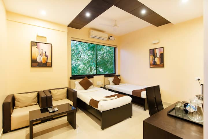 Deluxe rooms in city centre