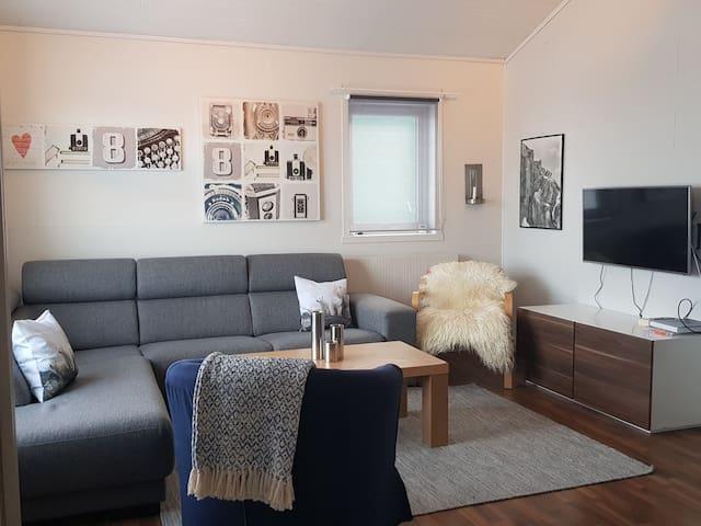 Flott leilighet med fantastisk utsikt