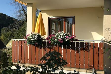 Willkommen in der 3 Zi.EG Ferienwohnung-Haus-Weber