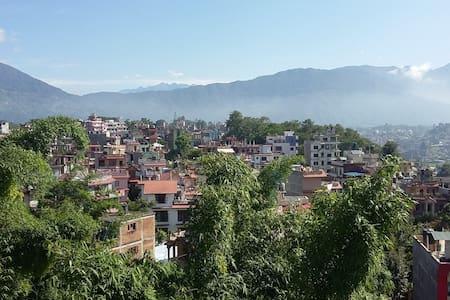 360 ° Kathmandu view