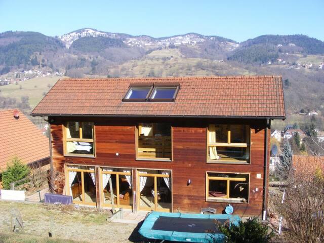 Entre Vosges et Vignoble, vue panoramique à 180°. - Munster - Dom