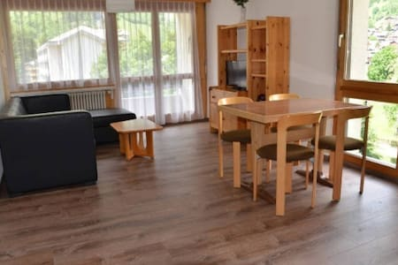 Modern 1-Bedroom Apartment next to LeukerbadTherme - Leukerbad - Apartment