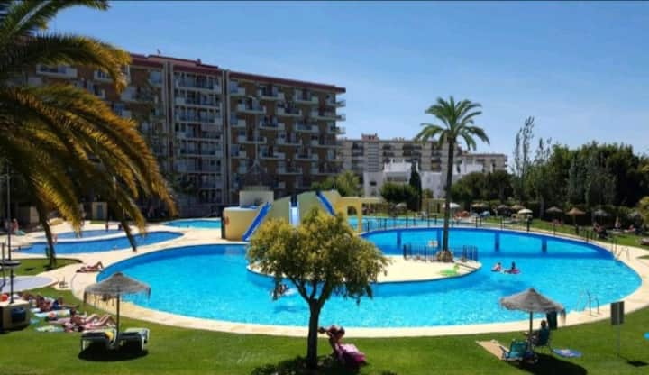 AT. MINERVA 242, BENALMADENA, WITH BEAUTIFUL POOLS