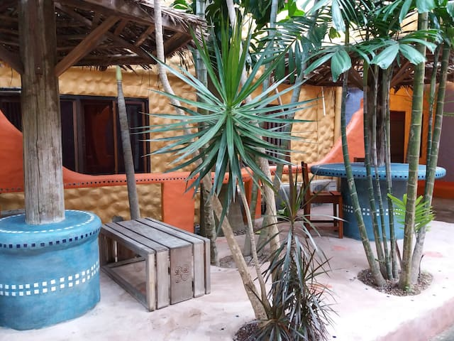 Armonia Courtyard and Barbeque Area