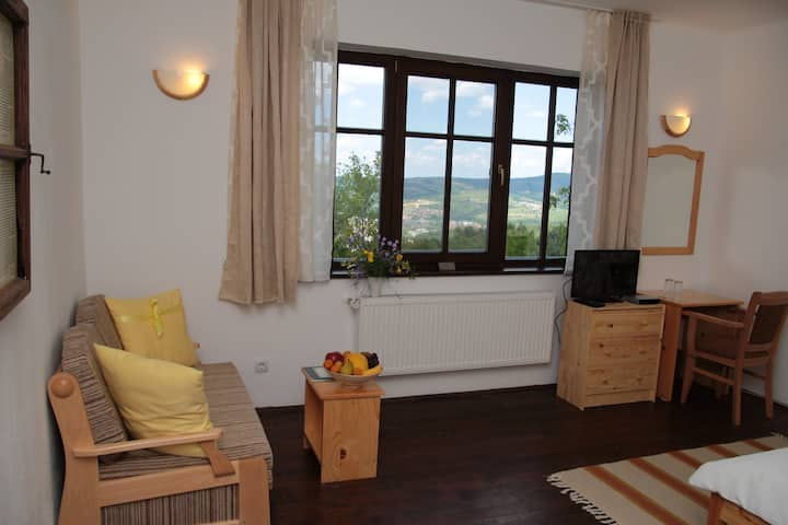 Deluxe Double Room with Extra Bed in Forest House