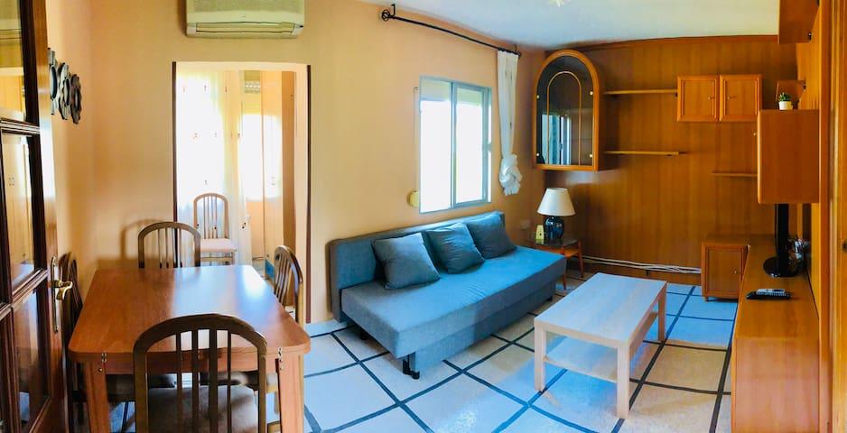 Bonito y luminoso piso a 15 min a pie del centro