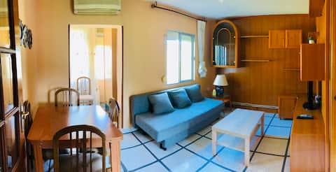 Mooi en licht appartement op 15 minuten lopen van het centrum