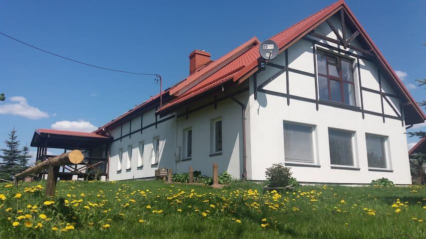 Dylewianka Organic Farm - Wysoka Wieś - Naturhytte