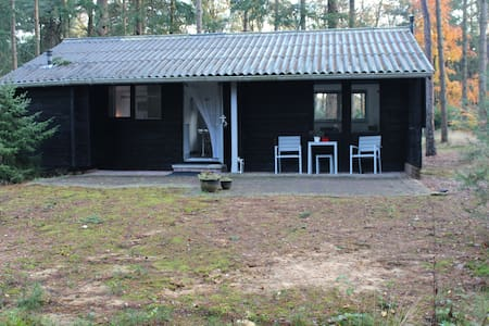 Romantic log cabin 100% privacy - Holten - Chalé