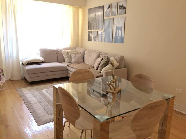 Appartement lumineux rénové proche des commodités - Montreal - Appartement