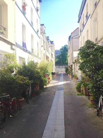 Chambre calme et confortable ! - Paris-11E-Arrondissement - Byt