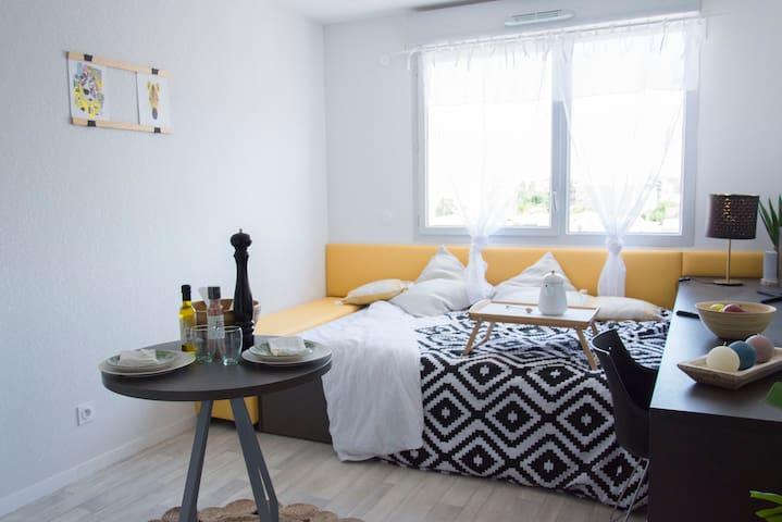 Appartement neuf à louer proche transports - B1.10