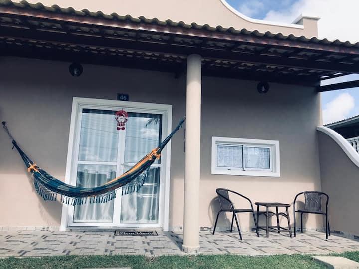 Aluguel de casa em resort próximo a praia