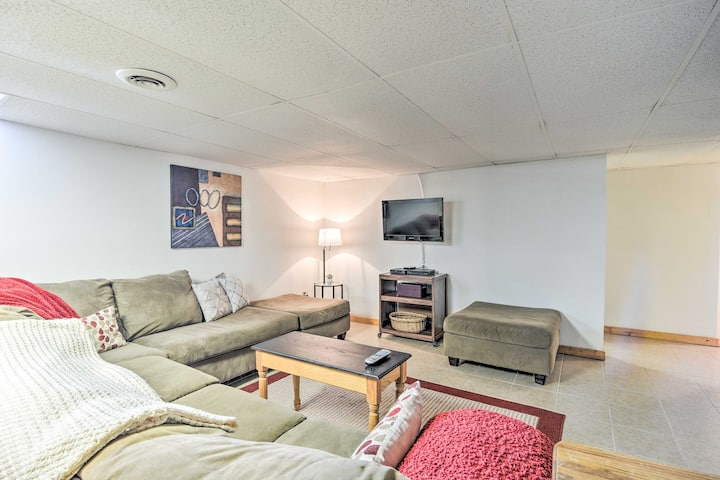 NEW! Pet-Friendly Apt w/ Snowmobiling On-Site!
