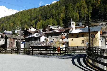 appartamento in montagna 10 posti - Saint-rhemy-en-bosses - Appartement