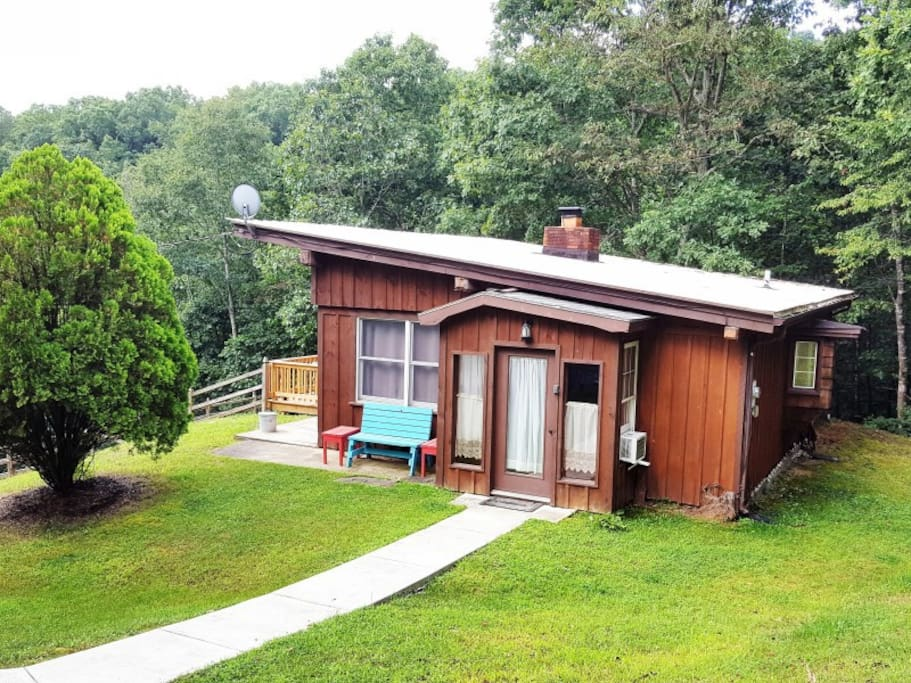 Valley view cabin cabins for rent in luray virginia for Cabin rentals near luray va
