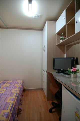 경희대국제캠퍼스 맞은편 원룸텔 One room for ready - 수원 - Asrama