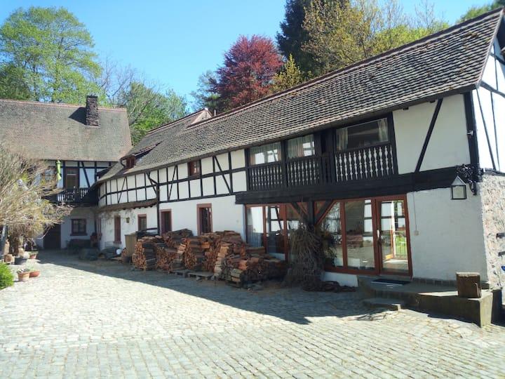 Pulvermühle - 3 Zimmer + Bad direkt am Stettbach
