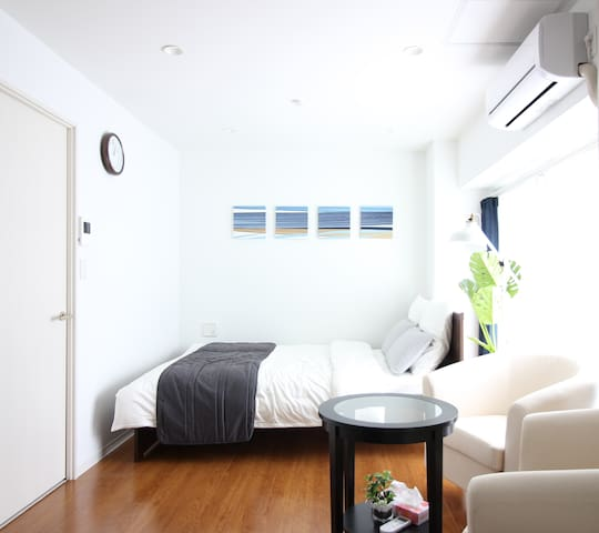 2 DBL BEDS, 2 MIN to SHIBUYA, NEW OPEN DEAL!! - Shibuya-ku - Leilighet