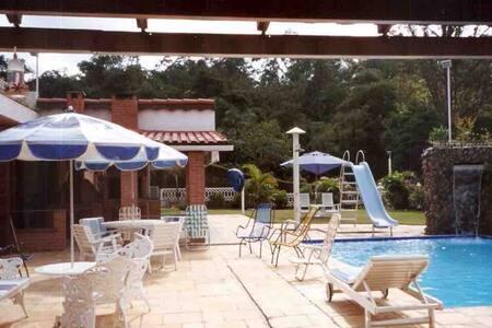 Casa de campo confortável em Santana de Parnaíba