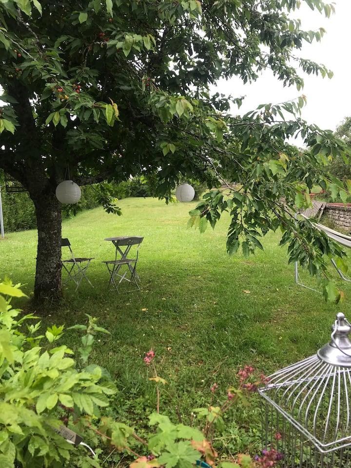 Maison ancienne à la campagne au calme