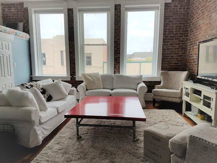 Historical Downtown-City View 3-Bedroom Apartment