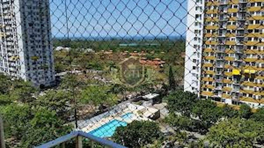 Barra da Tijuca/Recreio  Quarto vista mar 3 hóspe