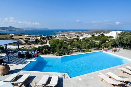 Paros Seaview Studio #1 with pool - Greece