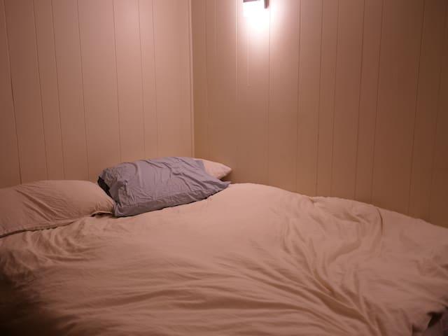 bedroom, small but comfy