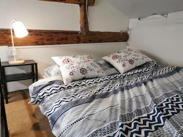 【后海小院>云影】小loft有独立的小客厅、卧室和卫生间,临近后海恭王府北海南锣