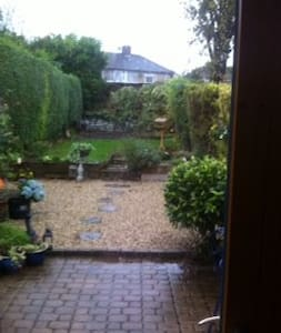 My home is a charming terrace town house with side entrance close to the centre of Dublin. It is deceptively spacious when you open the door and find the lovely living area and kitchen looking out to a pretty South West facing garden. Beside the luas