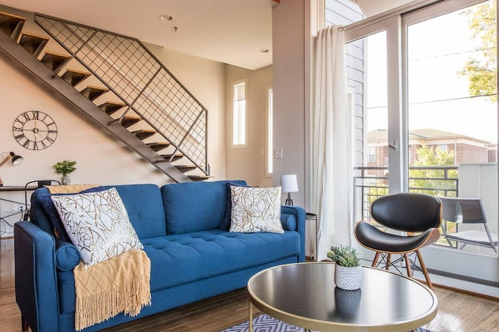 Chic + Hip 2BR NuLu Loft w/ Parking + Balcony