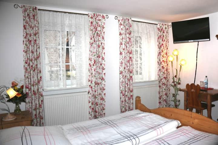 Doppelzimmer Komfort Double Room Regenshowerdusche
