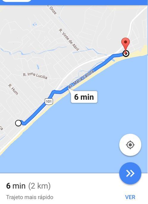 2 Km da praia da cocanha