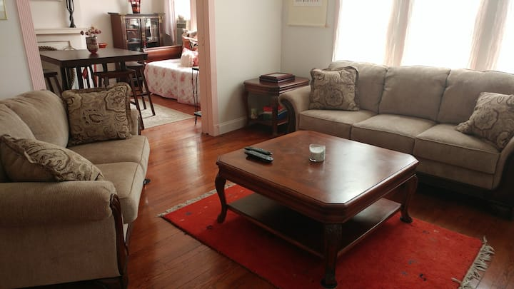 Mary's Respite -Convenient, garden apt in Flushing