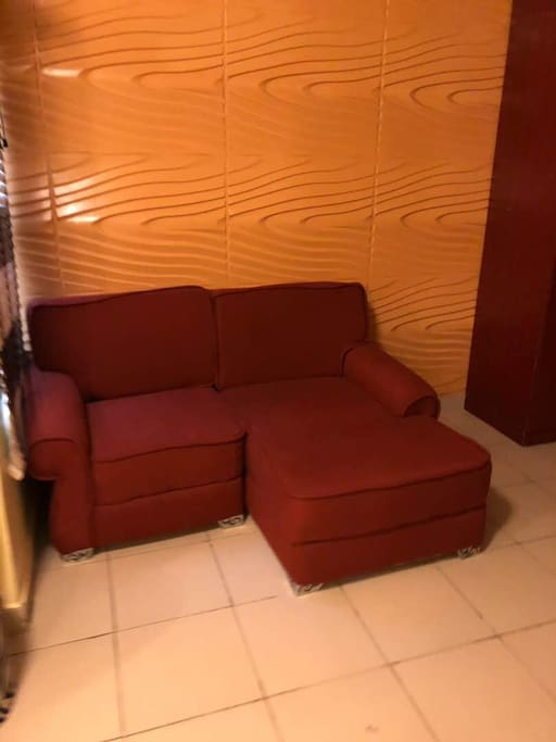 Pent room sofa