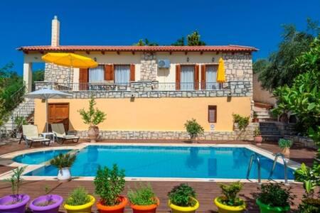 Anemone Villa, Rethymno, Crete - Asteri